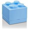 LEGO LEGO 2x2 mini tárolódoboz - világos kék (40111736)