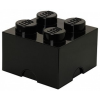 LEGO LEGO 2x2 tárolódoboz - fekete (40031733)