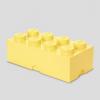 LEGO LEGO 2x4 tárolódoboz - világos sárga (40041741)