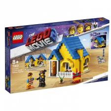 LEGO Movie Emmet Álomháza/Mentőrakétája! (70831) lego