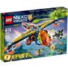 LEGO Nexo Knights 72005 - Aaron X-hajója