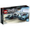 LEGO Speed Champions Formula E Panasonic Jaguar Racing GEN2 car and Jaguar I-PACE eTROPHY (76898)