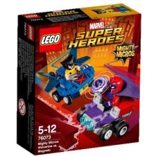 LEGO Super Heroes 76073 Mighty Micros: Wolverine vs. elektromágnes lego