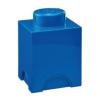 LEGO Tároló doboz 1x1 kék