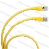 Legrand 051783 patch kábel RJ45-RJ45 Cat.6A árnyékolt (S/FTP) PVC 5 méter sárga d: 6,2mm AWG27 LCS3