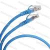 Legrand 051815 patch kábel RJ45-RJ45 Cat.6 árnyékolt (F/UTP) PVC 0,5 méter kék d: 6mm AWG26 LCS3