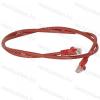 Legrand 051863 patch kábel RJ45-RJ45 Cat.6 árnyékolatlan (U/UTP) LSZH (LSOH) 2 méter piros d: 6mm AWG24 LCS3