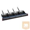 LEGRAND LCS3 patch panel 24xRJ45 (6xRJ45 modulok) Cat6 UTP 1U gyorscsatlakozók