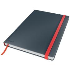 Leitz Beíró, B5, kockás, 80 lap, keményfedeles, LEITZ  Cosy Soft Touch , bársonyszürke füzet