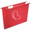 "Leitz Függőmappa, karton, A4, LEITZ, ""Alpha Standard"", piros"