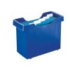 """Leitz Függőmappa tároló, műanyag, 5 db függőmappával, LEITZ """"Plus"""", kék"""