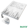 Leitz Genotherm, lefűzhető, A4, 180 mikron, víztiszta felület, 20 mm, LEITZ Jumbo 5db/csom