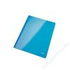 Leitz Gyorsfűző, laminált karton, lakkfényű, A4, LEITZ, kék (E30010036)