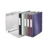 Leitz Gyûrûs könyv, 4 gyûrû, 52 mm, A4, PP, LEITZ Active Style, kristályfehér