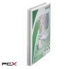 Leitz Gyûrûs könyv, panorámás, 4 gyûrû, 30 mm, A4 Maxi, PP, LEITZ, fehér