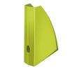 """Leitz Iratpapucs, műanyag, 60 mm, elöl nyitott, LEITZ """"Wow"""", metál zöld"""