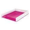 """Leitz Irattálca, műanyag, kettős színhatású, LEITZ """"Wow"""", rózsaszín"""