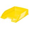 """Leitz Irattálca, műanyag, LEITZ """"Wow"""", sárga"""