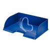 """Leitz Irattálca, műanyag, oldalt nyitott, LEITZ """"Plus Jumbo"""", kék"""