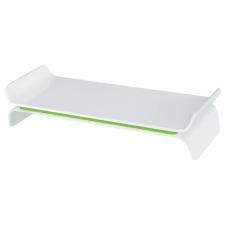Leitz Monitorállvány, állítható, LEITZ  Ergo Wow , zöld monitor kellék