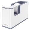 Leitz Ragasztószalag-adagoló, asztali, feltöltött, LEITZ Wow, fehér (E53641001)
