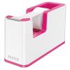 """Leitz Ragasztószalag-adagoló, asztali, feltöltött, LEITZ """"Wow"""", rózsaszín"""