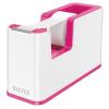 Leitz Ragasztószalag-adagoló, asztali, feltöltött, LEITZ Wow, rózsaszín (E53641023)