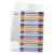 Leitz Regiszter, A4 Maxi, 1-20, nyomtatható, LEITZ