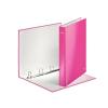 """Leitz """"Wow"""" A4 Maxi 40 mm lakkfényű D alakú 4 gyűrűs karton rózsaszín gyűrűskönyv"""