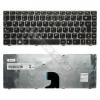Lenovo 25010716 gyári új magyar fekete-ezüst billentyűzet