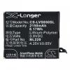Lenovo S850, Akkumulátor, 2150 mAh, Li-Polymer, BL220 kompatibilis