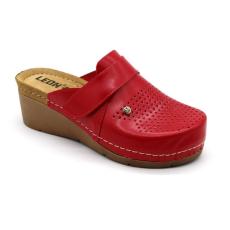Leon Comfortstep 1001 piros női bőr papucs 36-41