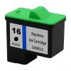 Lexmark 16-17 10N0016-10N0217 fekete festékpatron - utángyártott QP
