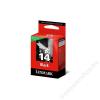 Lexmark 18C2090B Tintapatron Z2320, X2650 nyomtatókhoz, LEXMARK 14 fekete, 175 oldal (TJL2090)