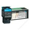 Lexmark 540A1CG Lézertoner C540, 543, 544 nyomtatókhoz, LEXMARK kék, 1k (TOLOC540CS)