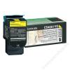 Lexmark 540A1YG Lézertoner C540, 543, 544 nyomtatókhoz, LEXMARK sárga, 1k (TOLOC540YS)