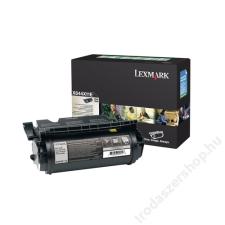 Lexmark 644X11E Lézertoner Optra X644, 646 nyomtatókhoz, LEXMARK fekete, 32k (TOLOX644X) nyomtatópatron & toner