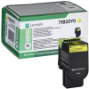 Lexmark 71B20Y0 Lézertoner CS317/417/517 nyomtatókhoz, , sárga, 2,3k (return)