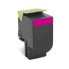 Lexmark 80C2HME Lézertoner CX410/CX510 nyomtatókhoz, LEXMARK, magenta, 3k