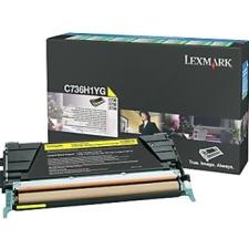 Lexmark C736,X736,738 toner yellow(Eredeti) C736H1YG nyomtatópatron & toner