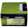 Lexmark [CX410/510] 80C2HME magenta eredeti toner