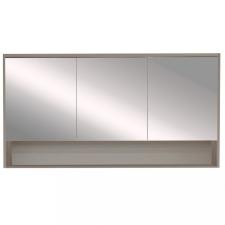 Leziter Luna 120 felső tükrös szekrény, antracit bútor