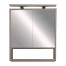 Leziter Luna 60 felső tükrös szekrény, antracit bútor