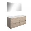 Leziter Porto Prime 120 komplett fürdőszoba bútor sonoma tölgy színben