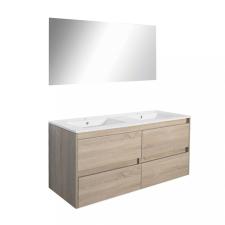 Leziter Porto Prime 120 komplett fürdőszoba bútor sonoma tölgy színben bútor