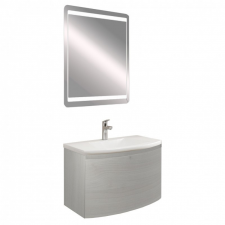 Leziter Sofia 60 fürdőszobabútor kerámia mosdóval, tükörrel bútor