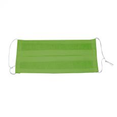 Leziter Textil szájmaszk állítható gumipántal mosható,zöld