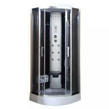Leziter Vital Black hidromasszázs zuhanykabin 90x90 cm-es méretben fürdőszoba kiegészítő
