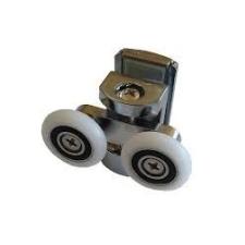 Leziter Zuhanykabin görgő dupla fém (G-30DM) fürdőszoba kiegészítő