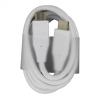 LG EAD63912803 USB 3.1 fehér gyári Type-C lapos adatkábel 1,2M